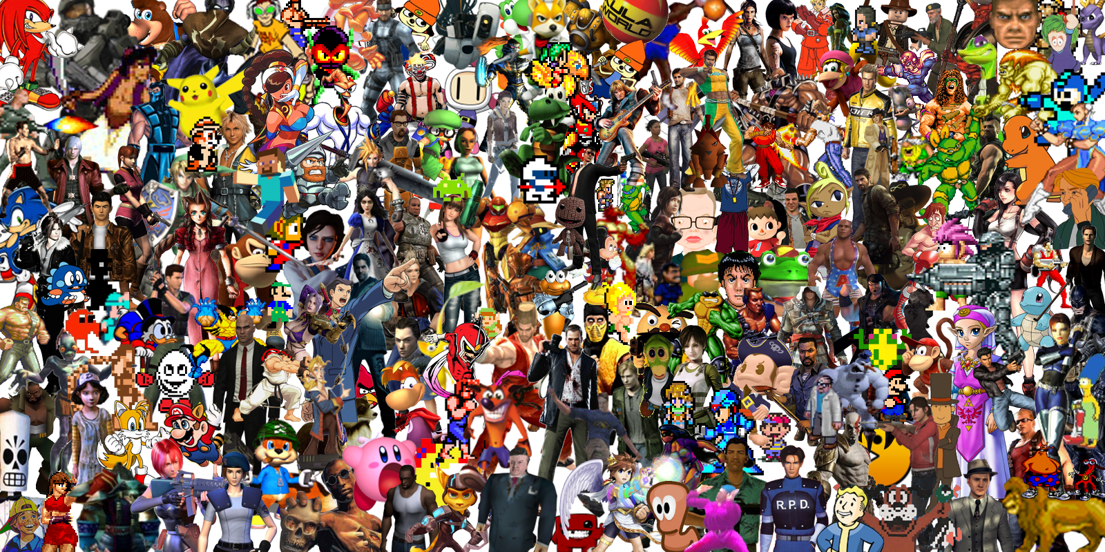 побольше много персонажей на одной картинке из игры фотографии почему-то заблокированы