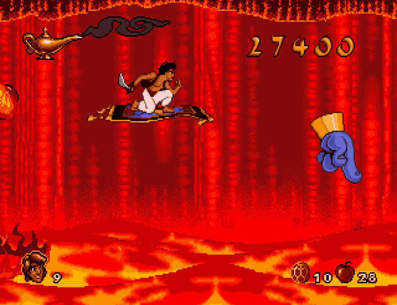 aladdin video game sega genesis