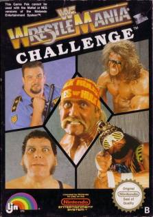 Wrestlemania Challenge Cover