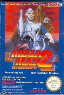 Mega Man 2 cover