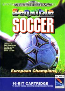 Sensible Soccer Game Cover
