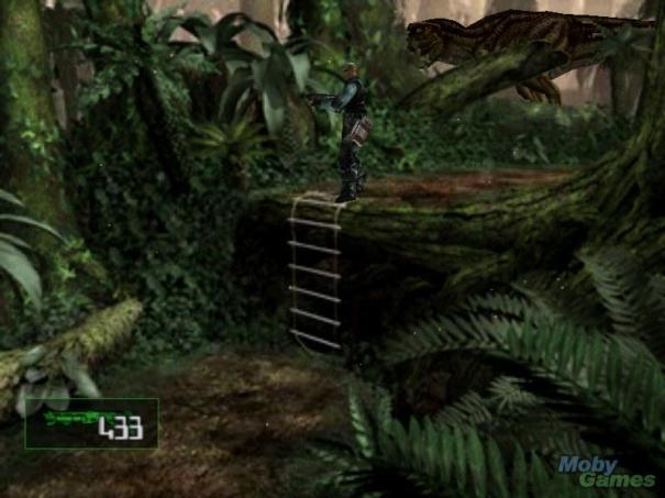 Dino Crisis 2 background