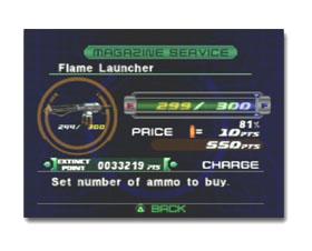 Dino Crisis 2 ammo cost