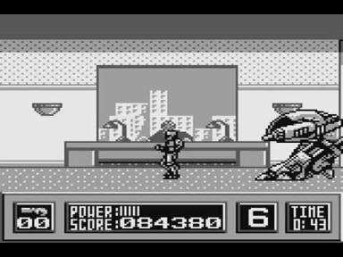 ED 209 RoboCop Gameboy