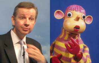 Michael Gove and Pob