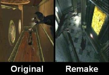 Resident Evil DC-Remake Compare 4