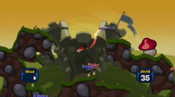 Worms 2 Super Sheep