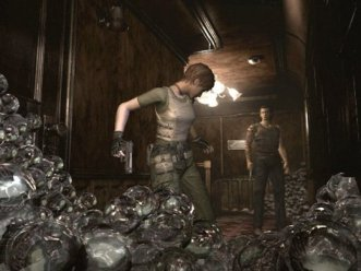 Resident Evil Zero leeches