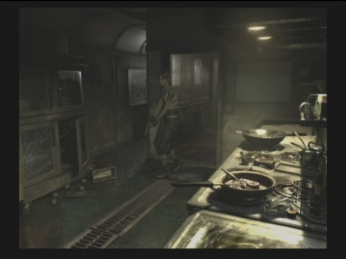 Resident Evil water effects