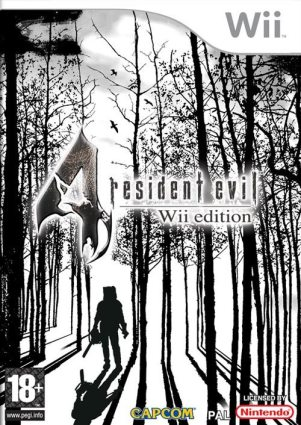 RESIDENT EVIL 4 WII COVER