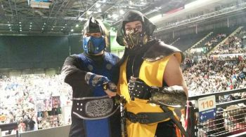 Sub Zero and Scorpion are now friends