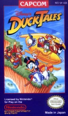 DuckTales NES cover art