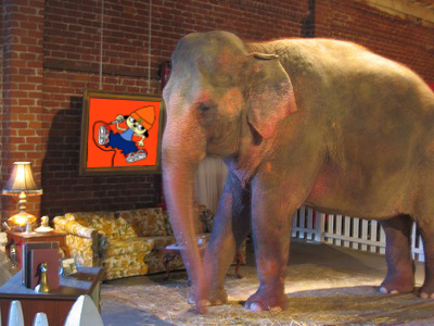 Elephant in the room, Parapper the Rapper