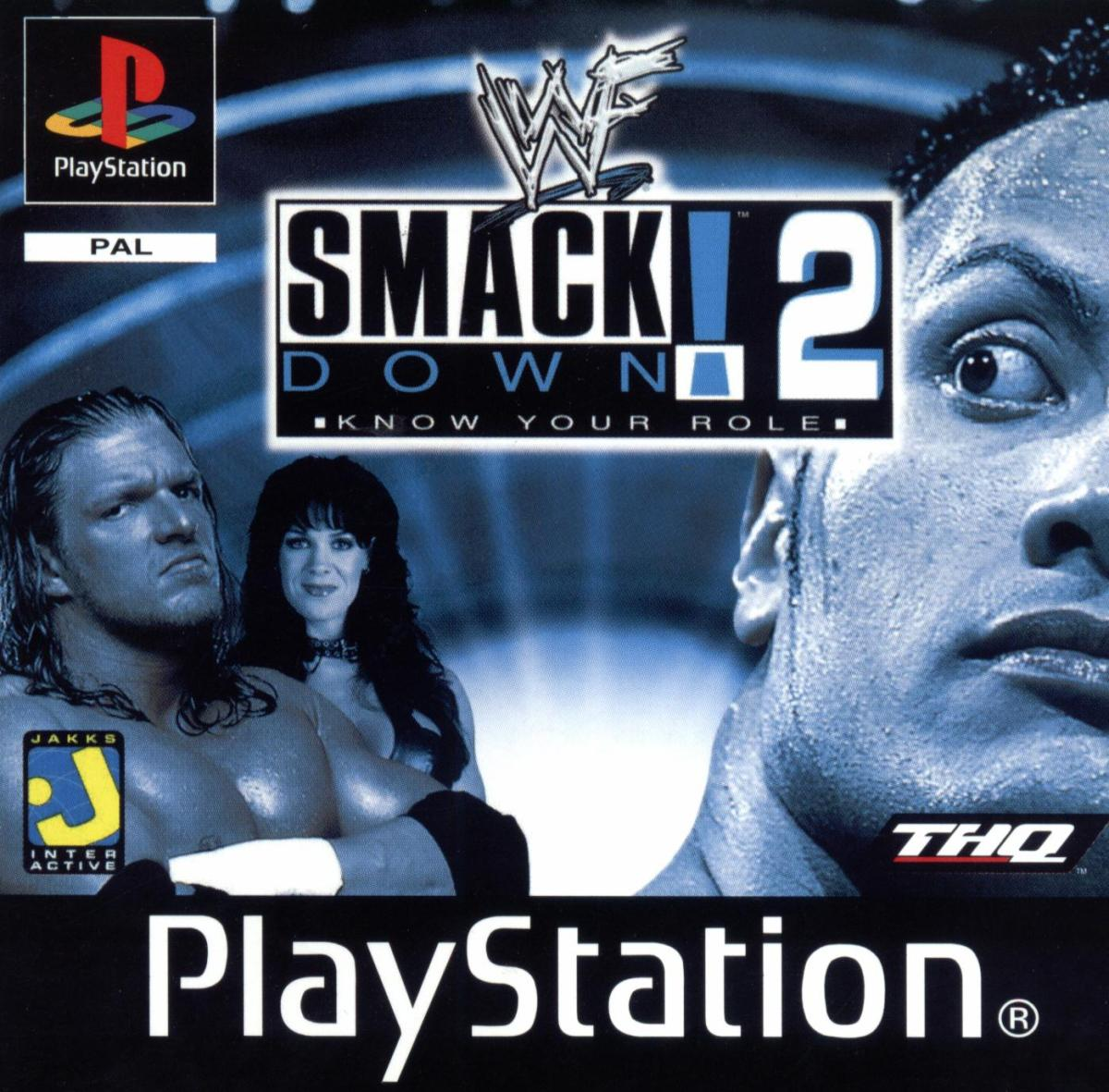 WWF SmackDown! 2: Know Your Role. THQ (2000) PlayStation