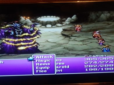 Final Fantasy 1 Lich Boss