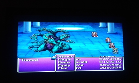 Easy of all the bosses, and the last of the 4 fiends.
