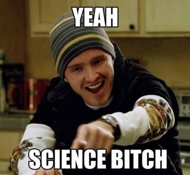 Yeah, Science Bitch!