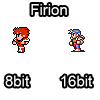 Firion 8bit vs 16bit