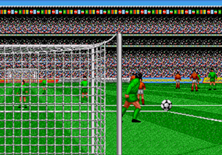World Cup Italia goalkick