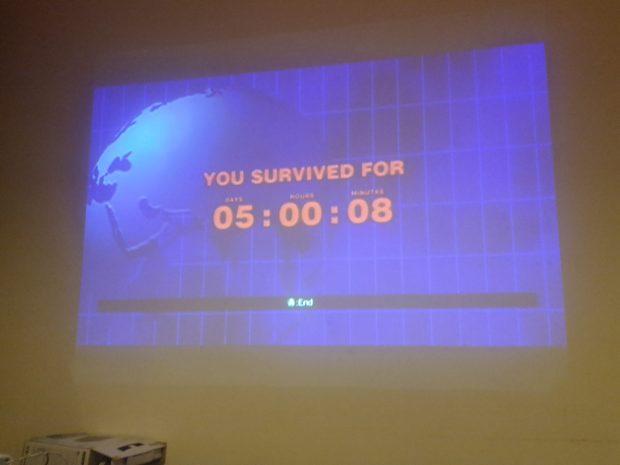 I survived 5 days