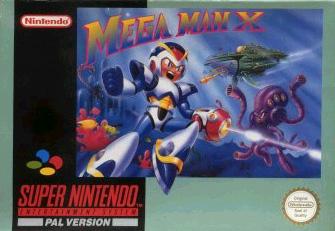 Mega Man X PAL SNES