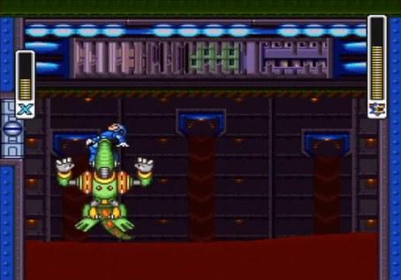 Mega Man X2 Wheel Gator