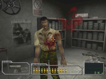 Resident Evil Survivor Capcom 2000 Playstation Games