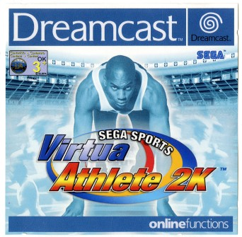 Virtua Athlete 2K Sega Dreamcast