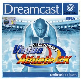 Virtua Athlete 2K Sega Dreamcast