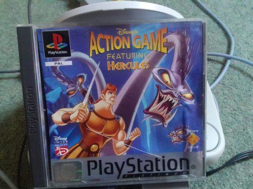 Disney's Hercules boxart