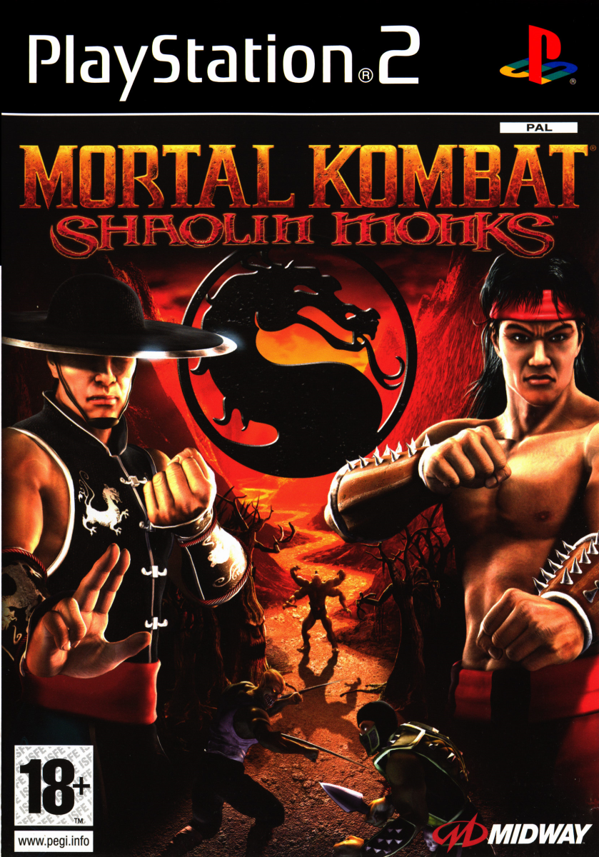 Mortal Kombat: Shaolin Monks, Midway (2005) PlayStation 2