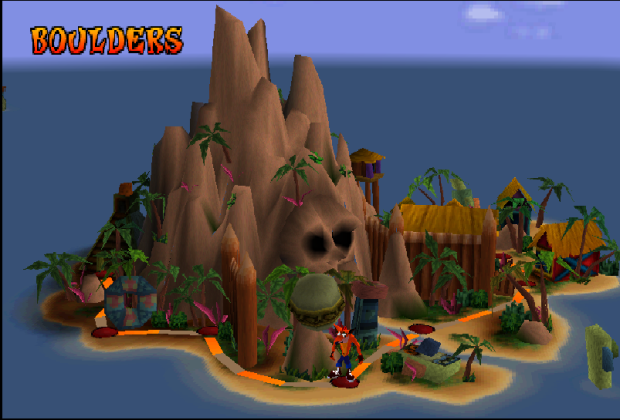 I like the world map, very DKC.
