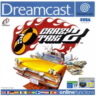 Crazy Taxi 2 PAL DC-front