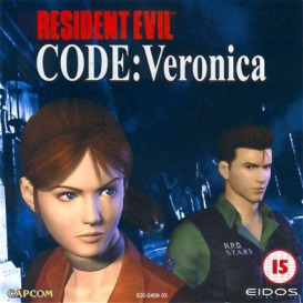 Resident Evil - Code Veronica (PAL) - Front