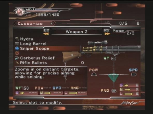 DoC weapon mod