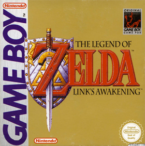 Links awakening boxart
