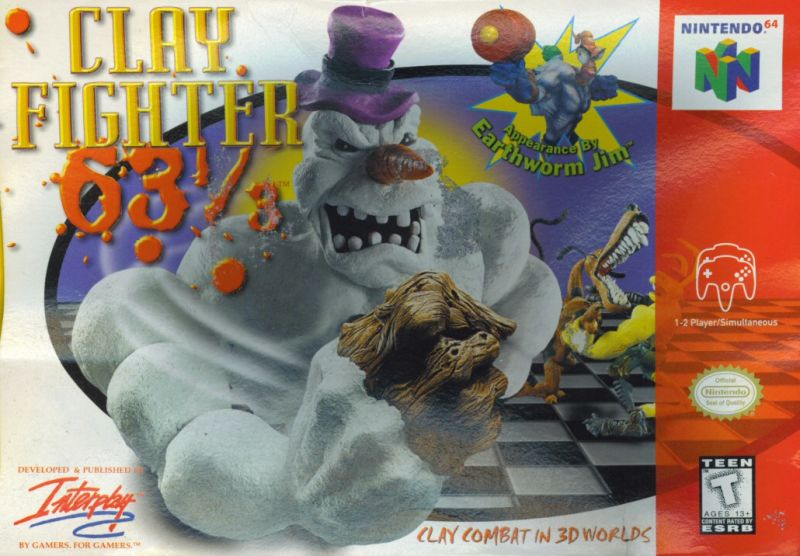 Clayfighter 63 1 3 Interplay 1997 Nintendo 64 Games Revisited