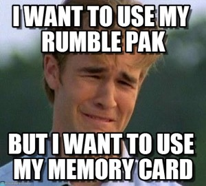 N64 memory card