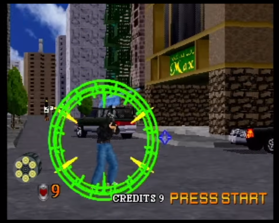 Virtua Cop 2 graphics