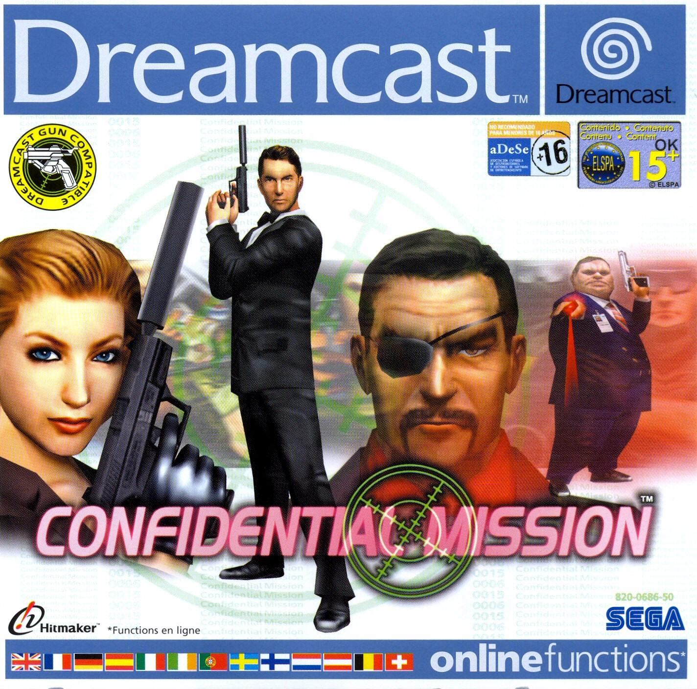 Confidential Mission, Sega Hitmaker (2001) Dreamcast   Games Revisited