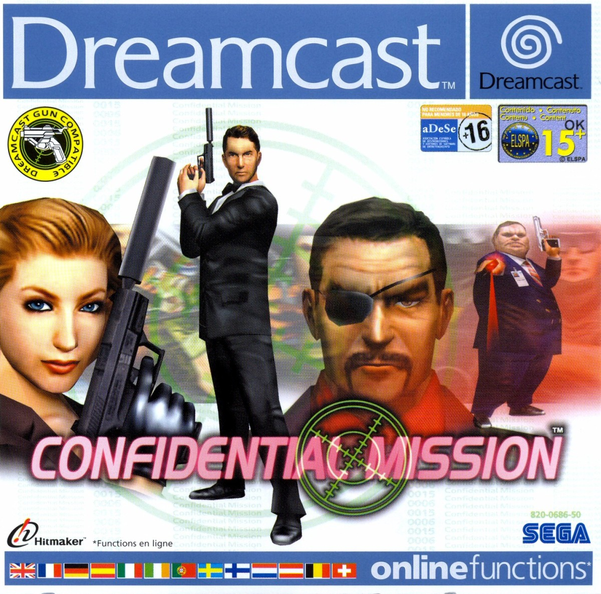 Confidential Mission, Sega Hitmaker (2001) Dreamcast