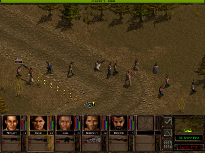 Tactical Mode, Jagged Alliance