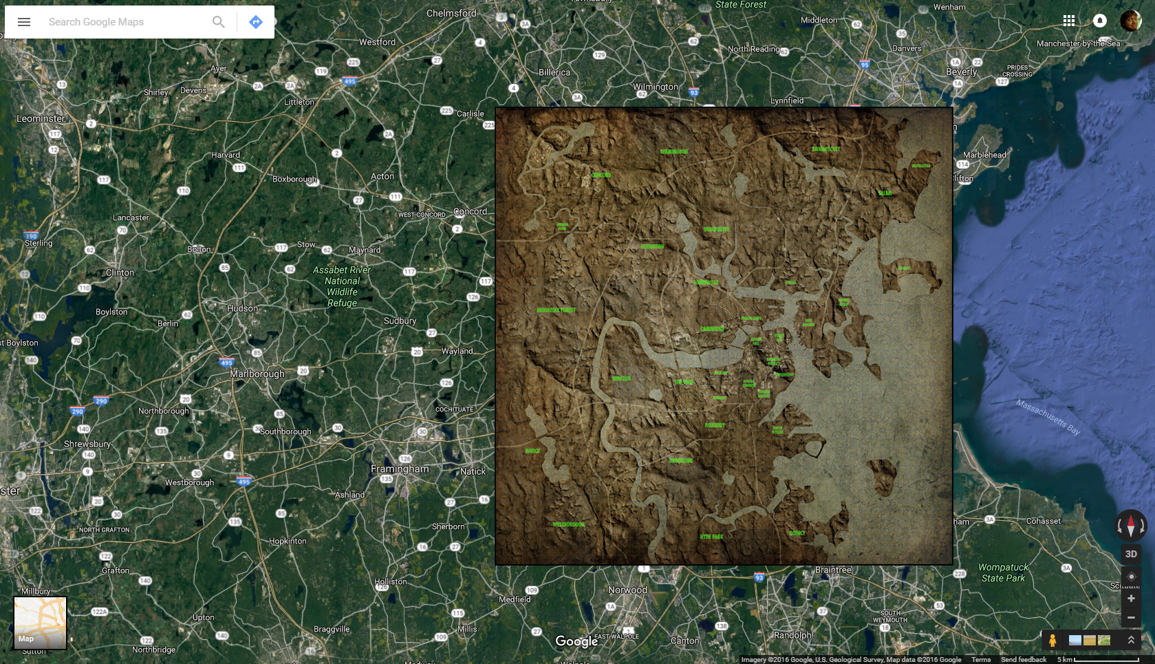 Fallout Maps Overlayed | Games Revisited