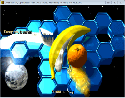 What?! That's the endgame splash screen!