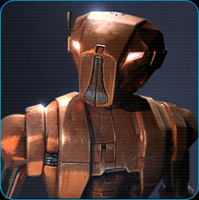 I love my little Assassin Droid. *swoon*