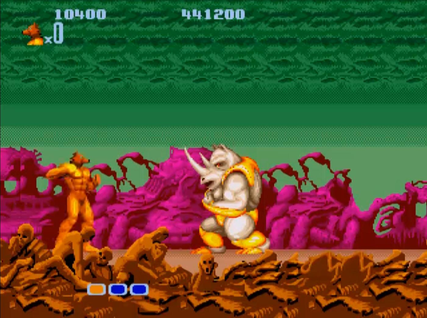 Altered Beast. Sega (1990) Sega Genesis