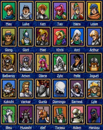 Lots of characters!