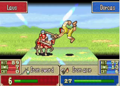 I love Dorcas' animation for attacking