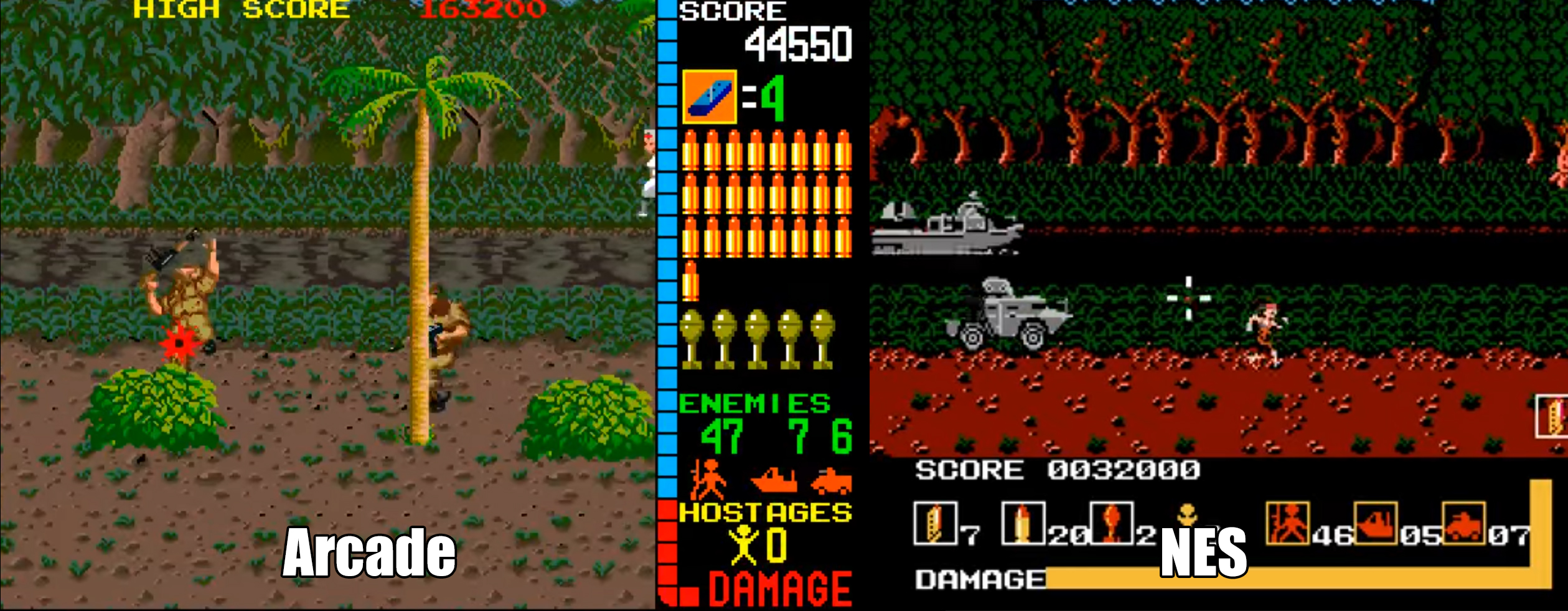 Operation Wolf Taito 1989 Nintendo Sega Master System Games Revisited