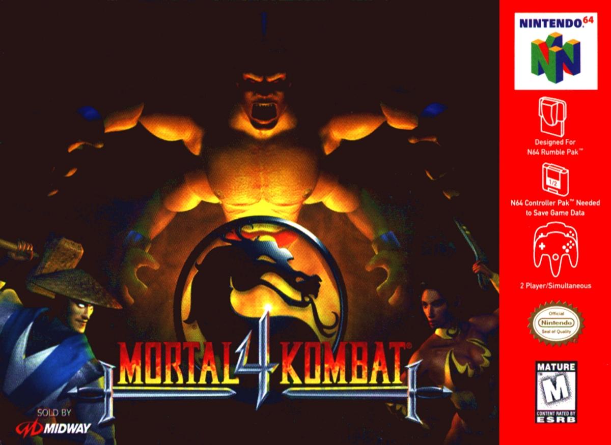 Mortal Kombat 4. Midway Games (1998) Nintendo 64
